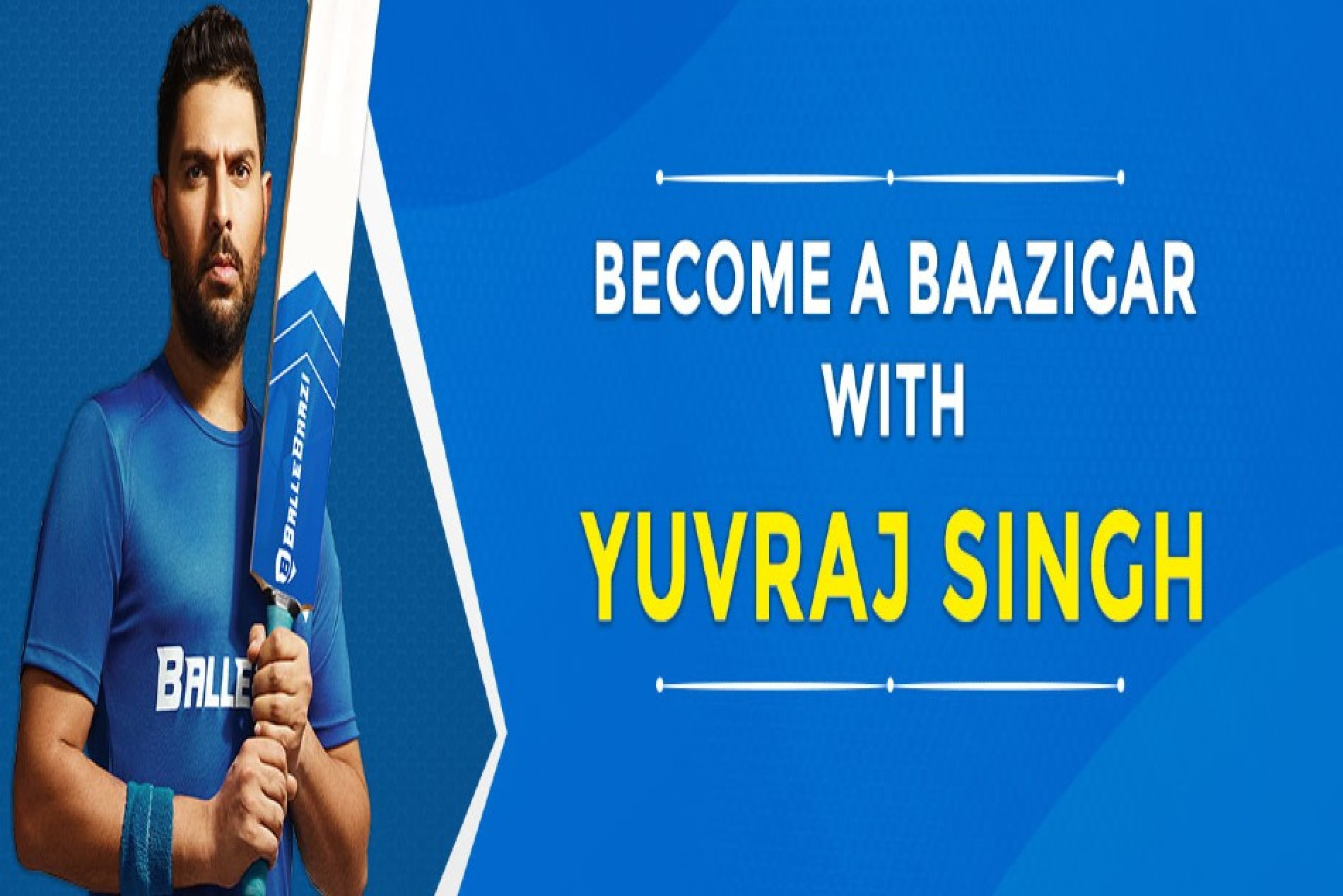 Indian Cricketers supports Yuvraj Singh as he take the #BallaHallaChallange.