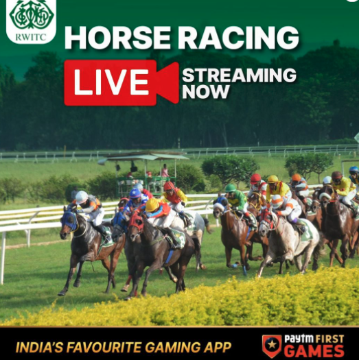 Online Betting on Horse Racing now through Paytm First Games